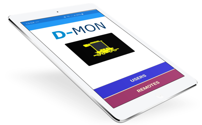 D-MON mobile application